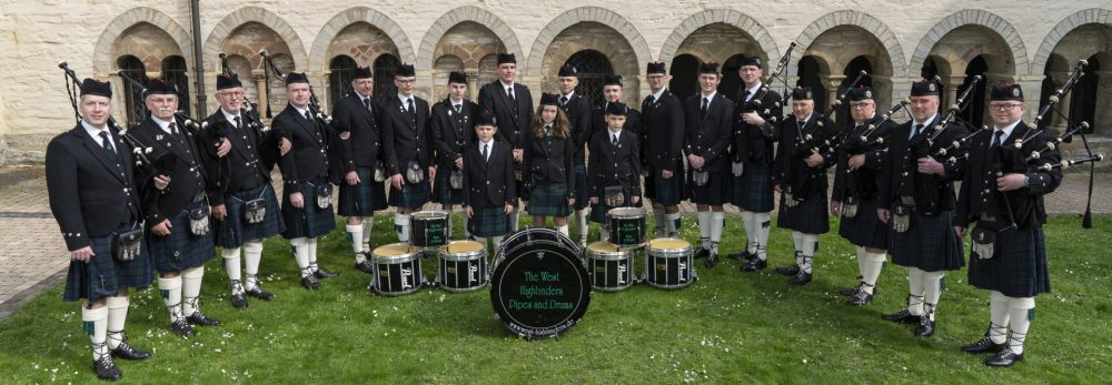 The West Highlanders Pipes and Drums
